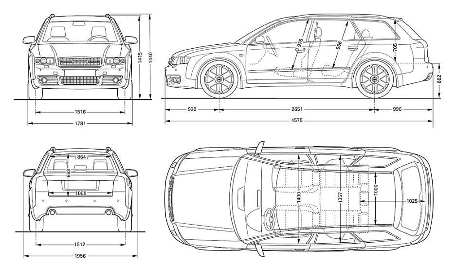 Pokrowce Miarowe Do Audi A4 B6 Avant Moje Pokrowce Mojepokrowcepl